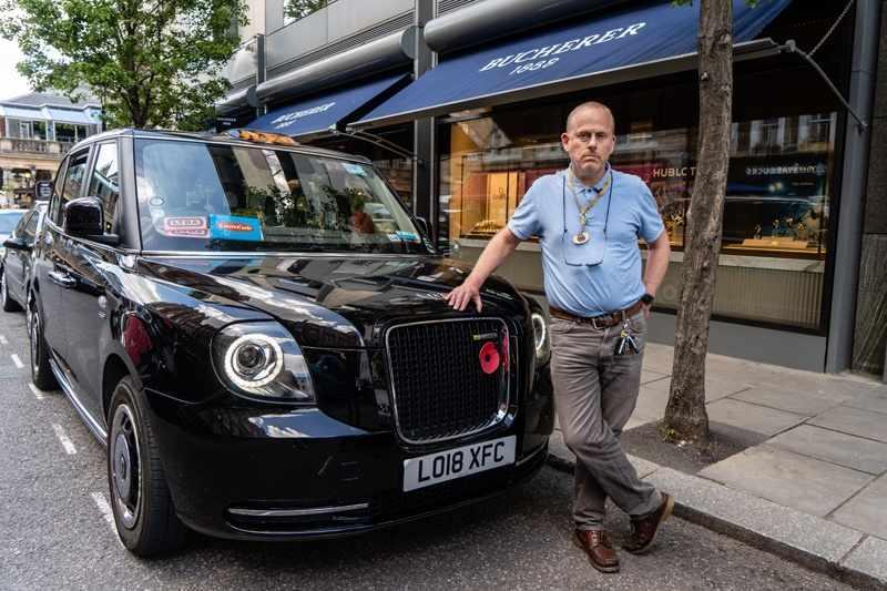 london cabbies covid hope fare