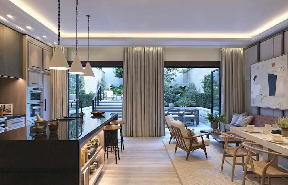 london priciest development unveils townhouses