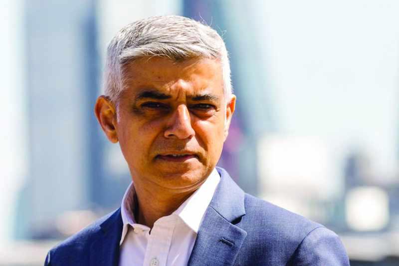 london sadiq khan mayor feisty