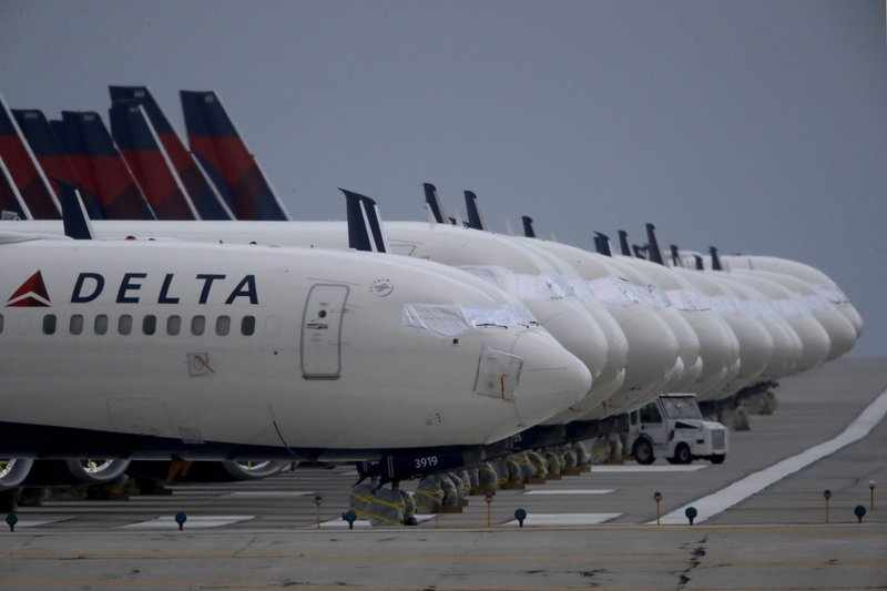 loss delta cautious outlook