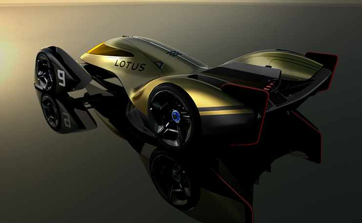 lotus endurance racer aerodynamics generation