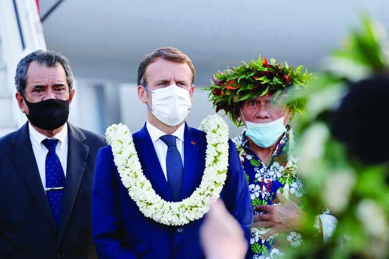 macron french polynesia nuke tests