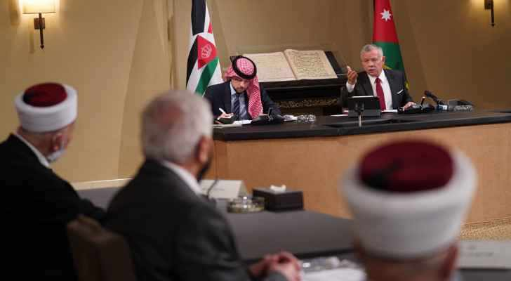 majesty support jerusalemites religious leaders