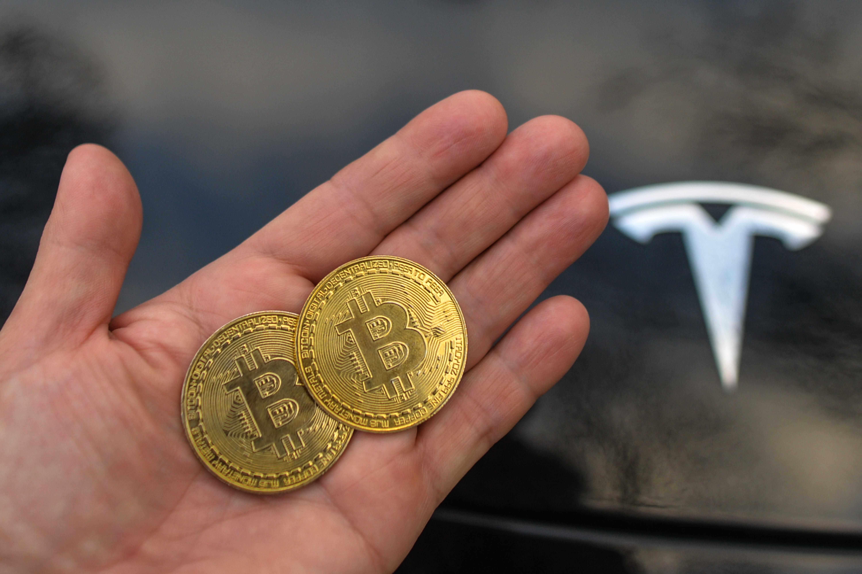 market cryptocurrency bitcoin tesla car