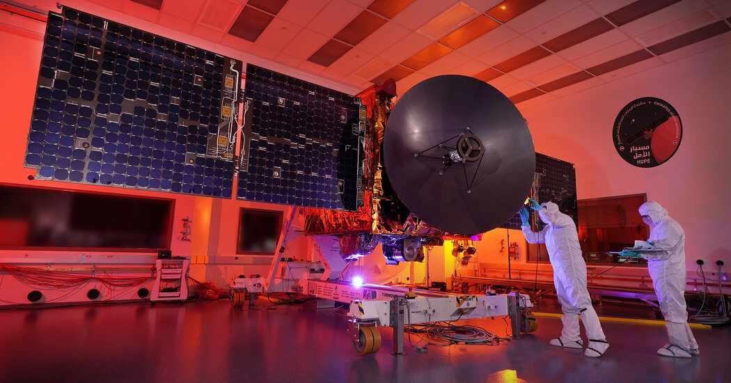 mars mission arab spacecraft hope