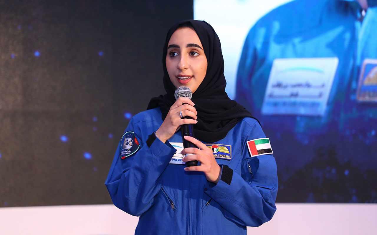 matrooshi nora childhood ambition astronaut