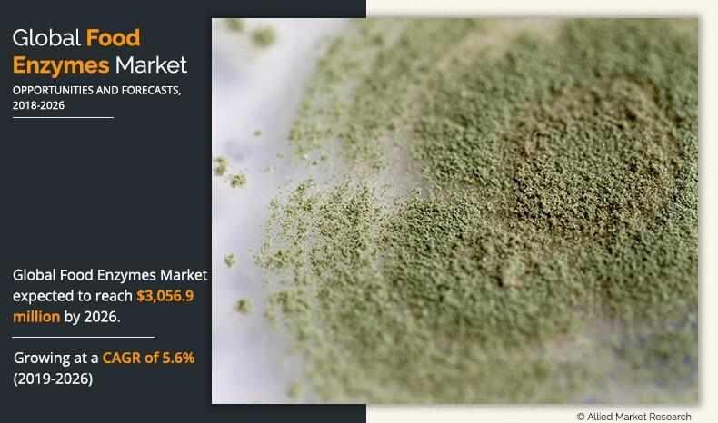 mena, food, enzymes, market, size,