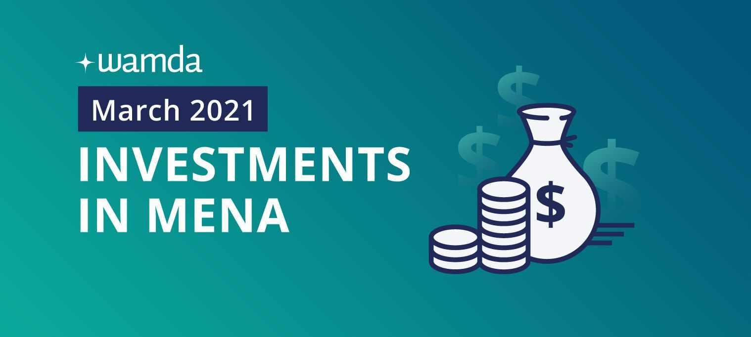 mena startups march raised investment