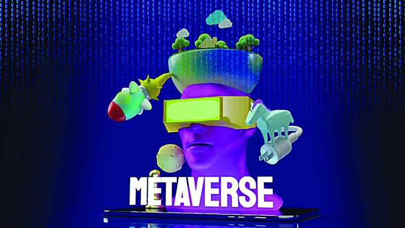 metaverse internet revolution beach workplace