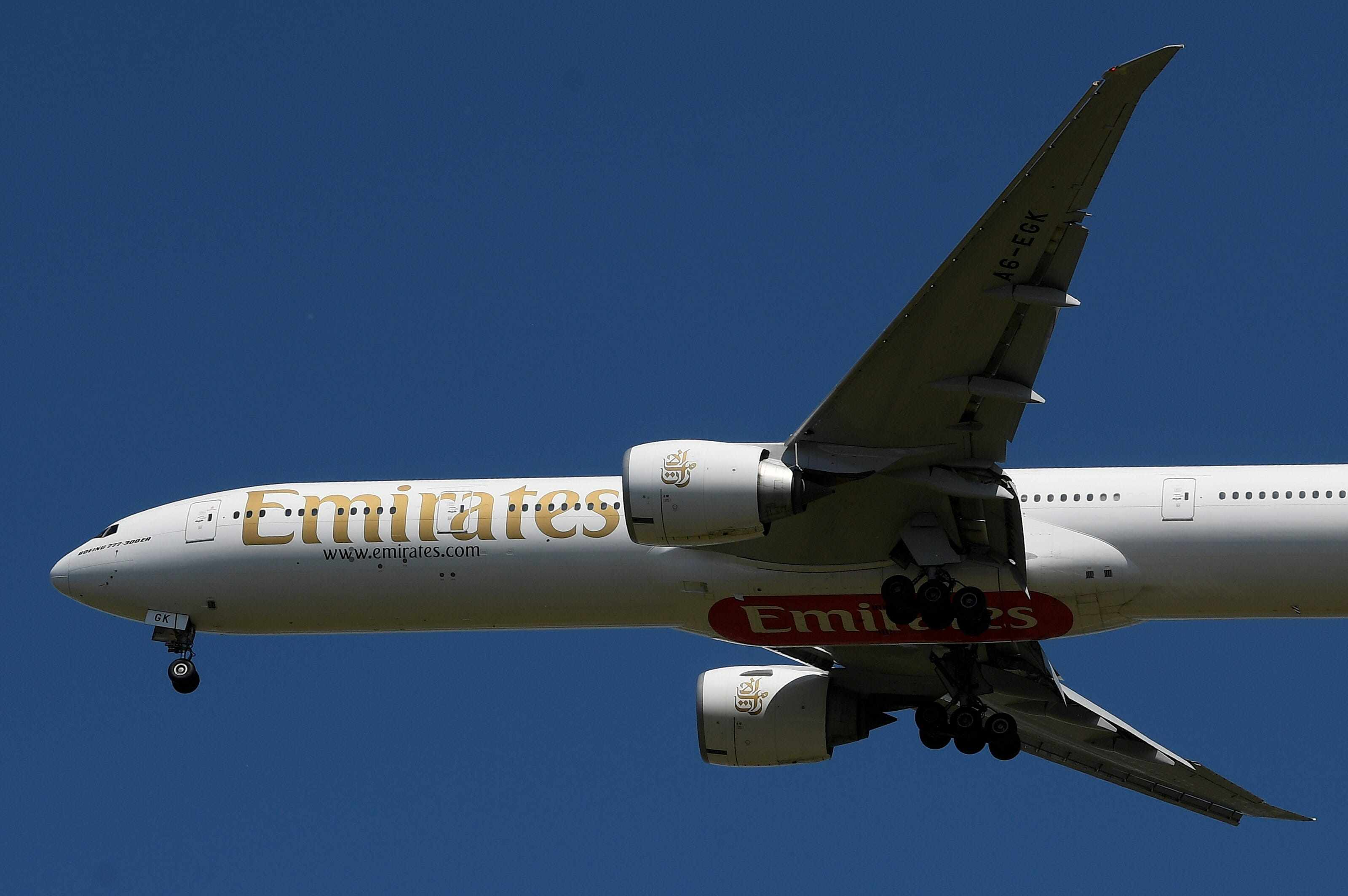 middle-east emirates airline credit glitzy