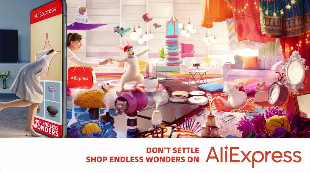 middle-east global shopping aliexpress festival