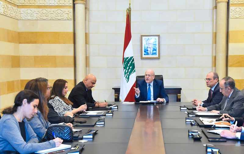 mikati, bank, delegation, reforms, syndicate,