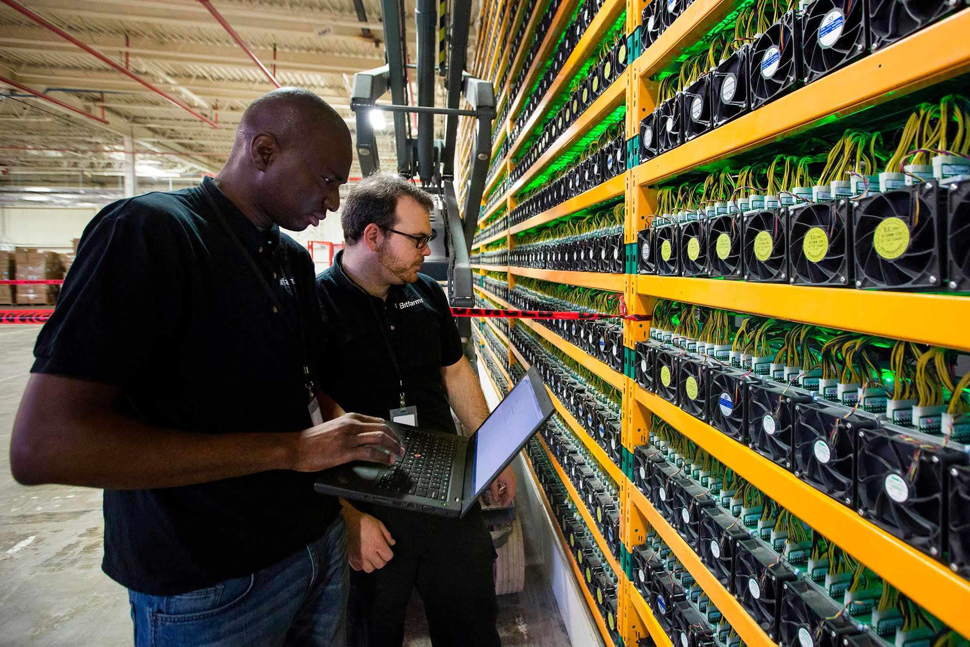 mining bitcoin shows isn environment