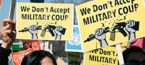 myanmar rights defenders brute force