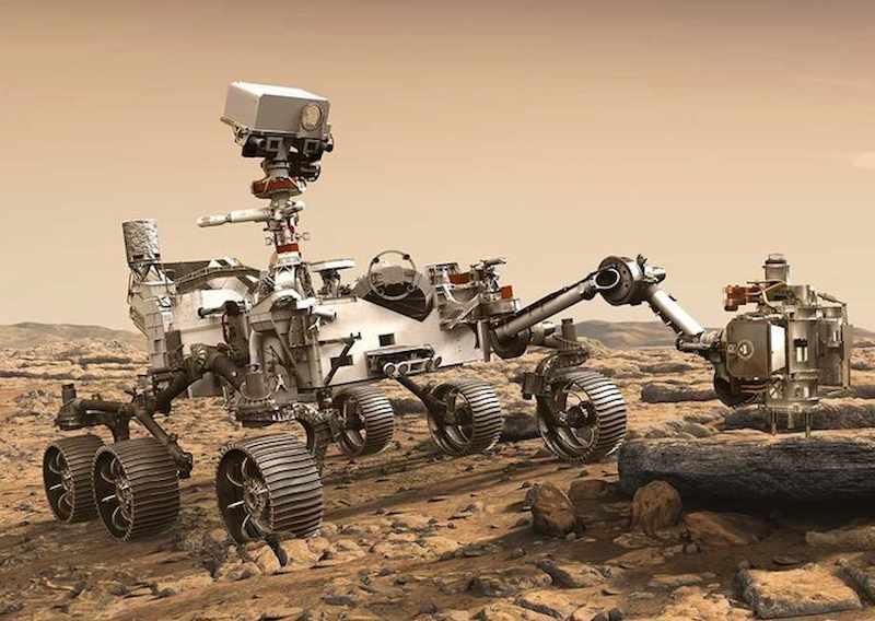 nasa mars rover landed safely