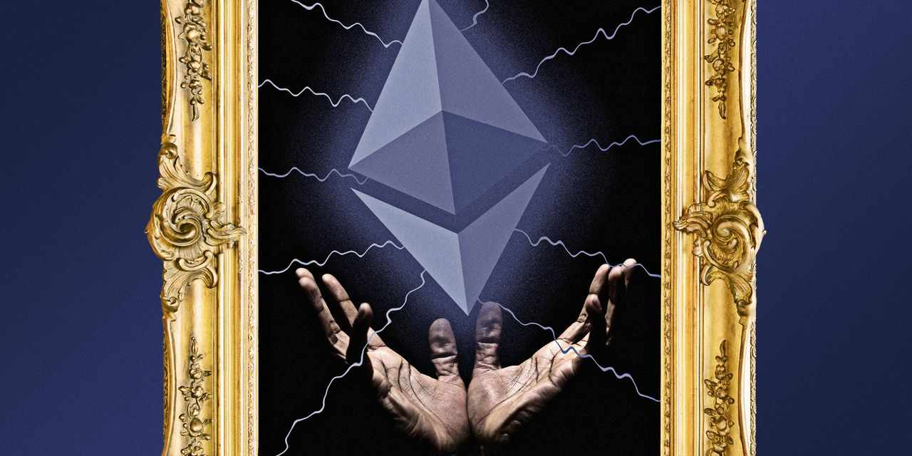 nft ethereum frenzy booming