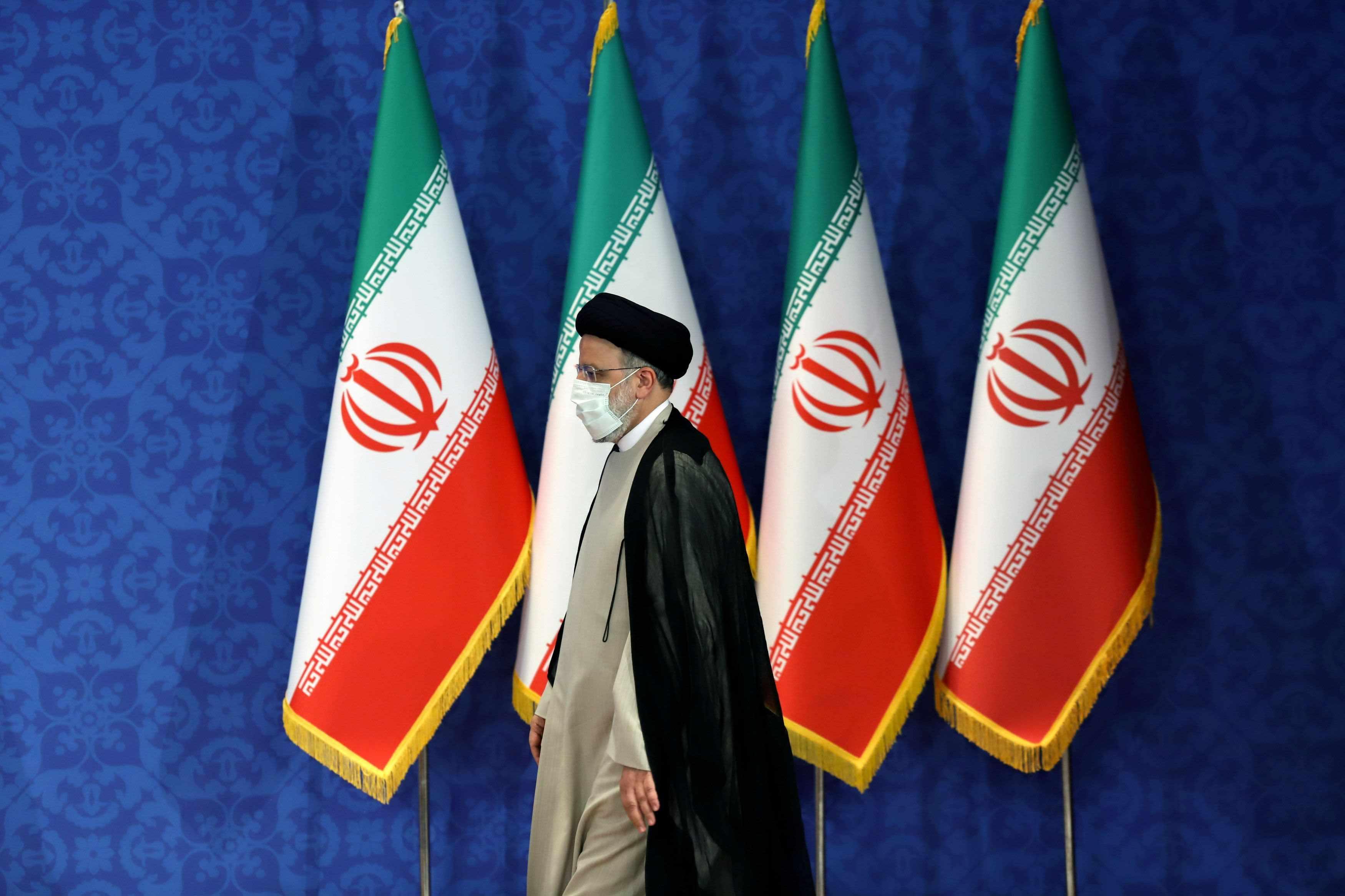 nuclear iran president raisi elect