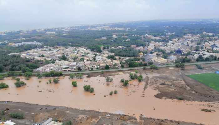 oman areas survey rains times