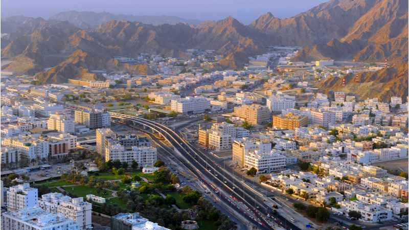 oman general budget deficit stands
