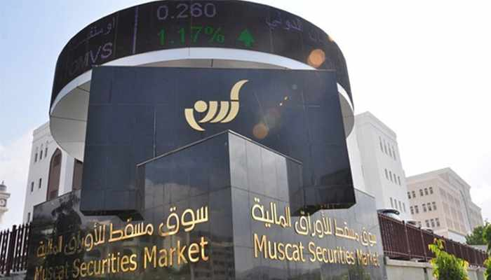 oman index share cent were