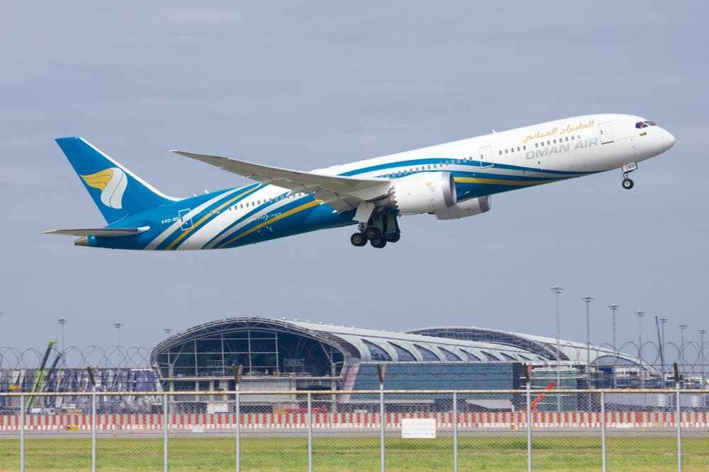 oman oman-air flights network destinations