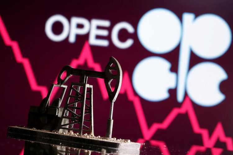 opec oil january slight easing