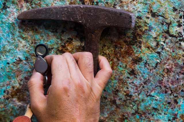 ore demand iron records copper