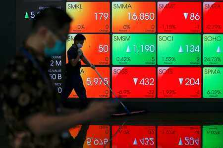 outlook dollar wobbles asia markets
