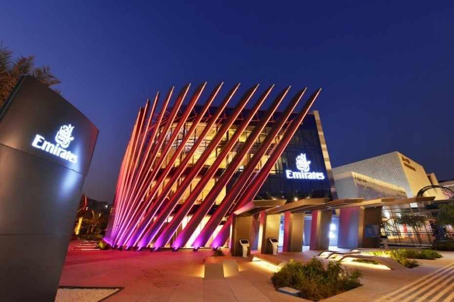 pavilion, emirates, dubai, expo, around,