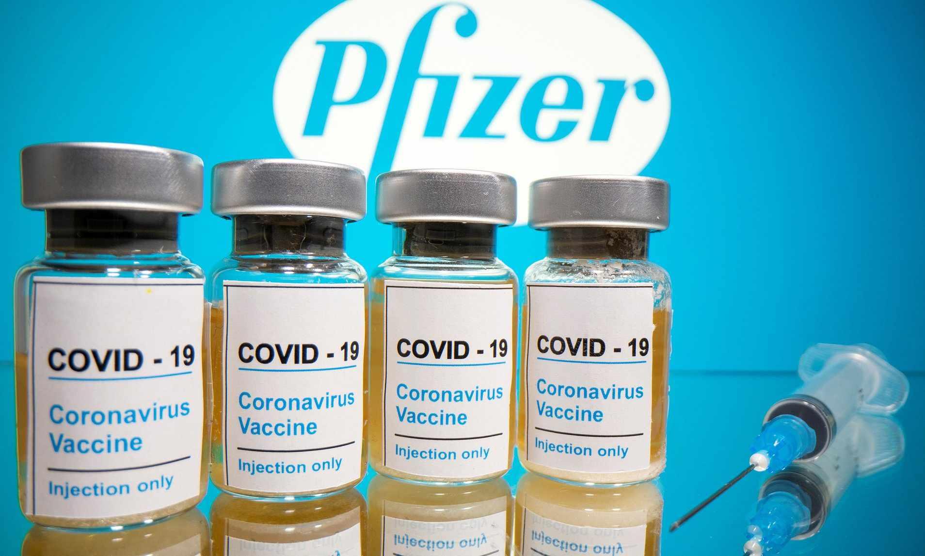 pfizer temperatures vaccine covid