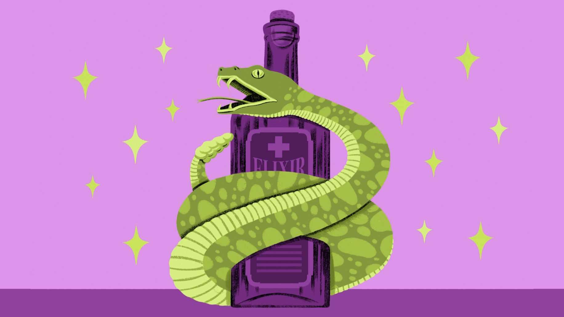 phoney medicine such lasting allure