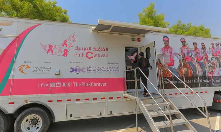 pink caravan educational