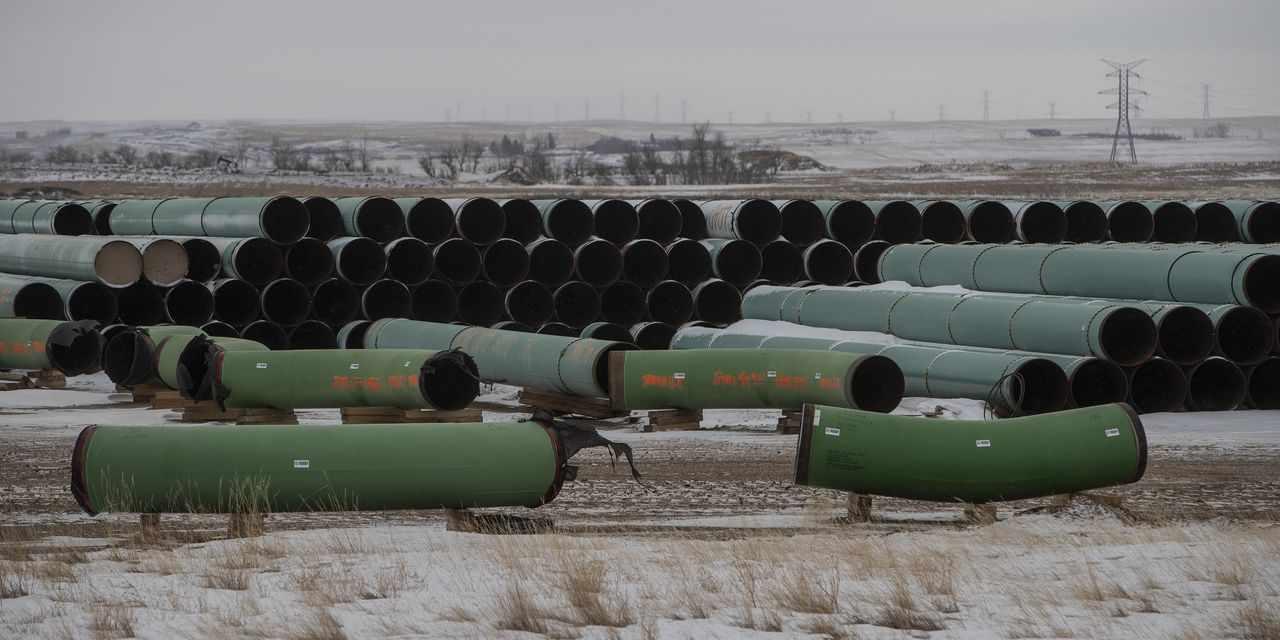 pipelines keystone hard road