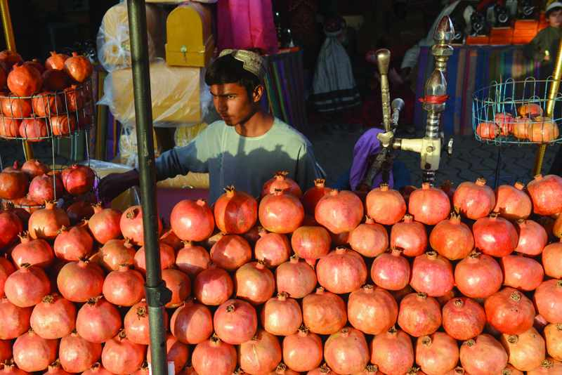 pomegranate, thousands, jobless, afghan, left,