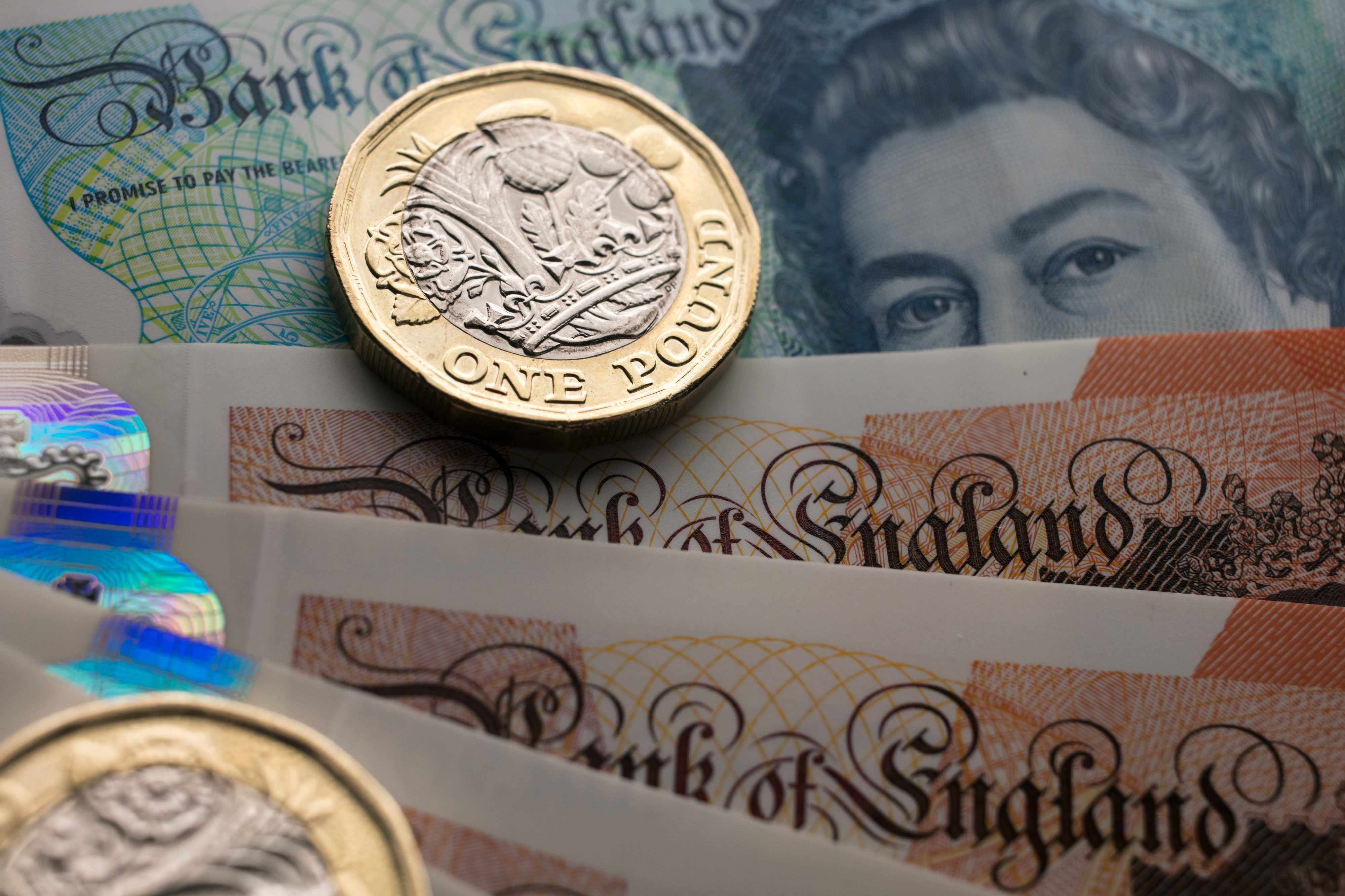 pound strategist screaming trading dollar
