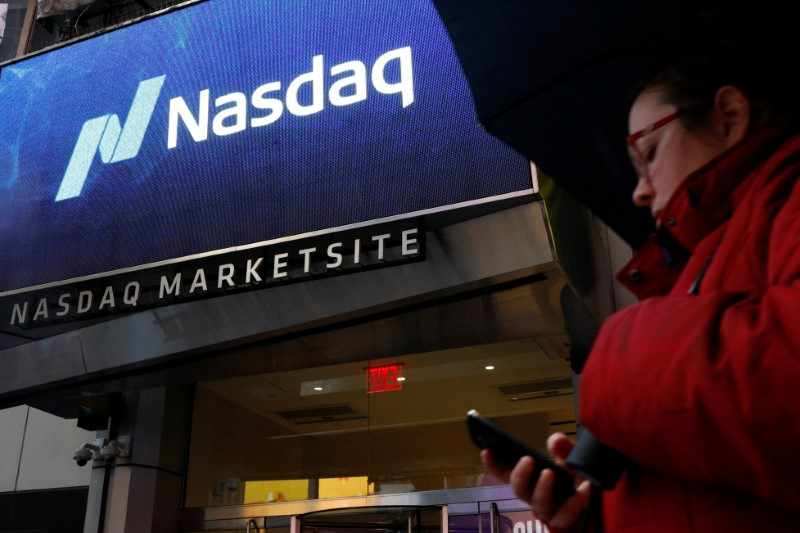 pressure nasdaq futures tech lower