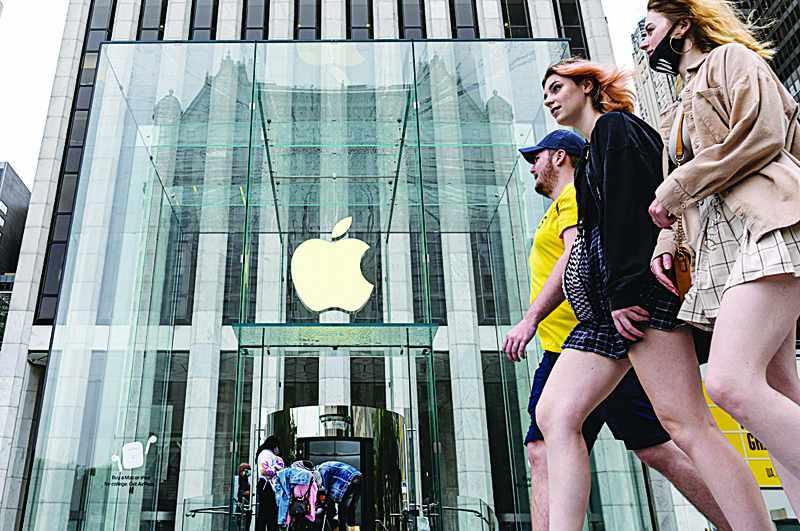 profit apple lockdowns eased doubles