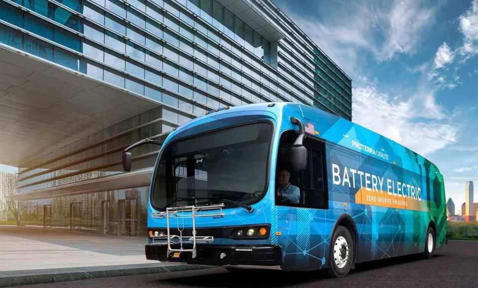 proterra electric public bus maker