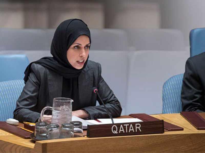 qatar, humanitarian, state, address, economic,