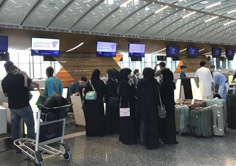 qatar airport grossly australian baby