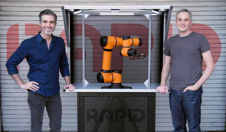 rapid robotics manufacturers funding helped