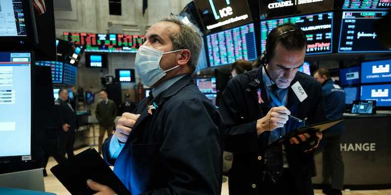 record highs support hovers continued