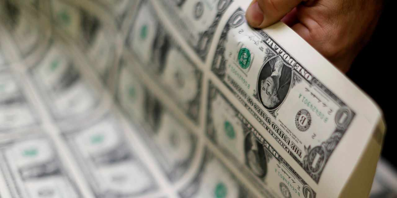 reserves global dollar share