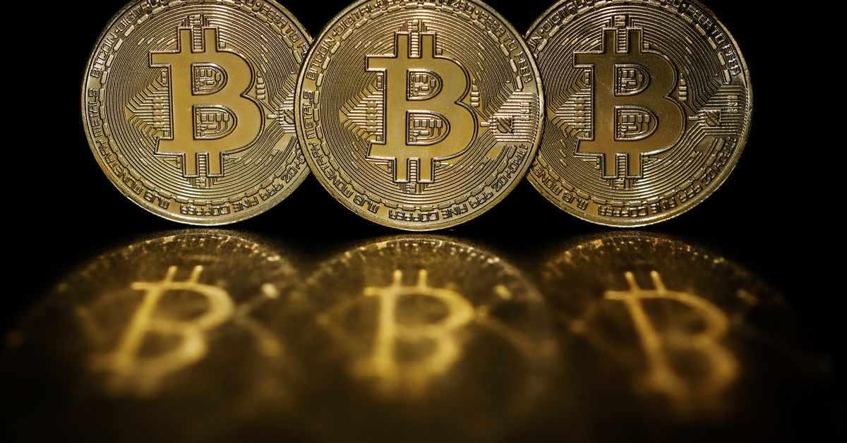 reuters bitcoin percent previous