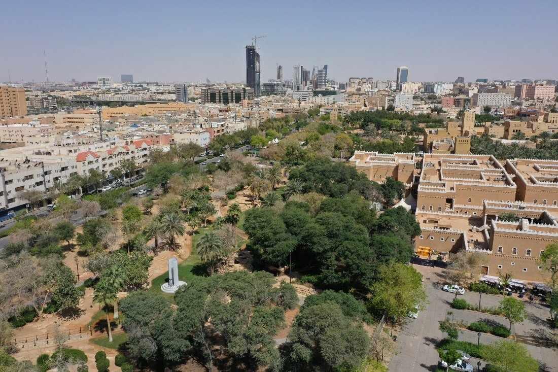 riyadh green cities project