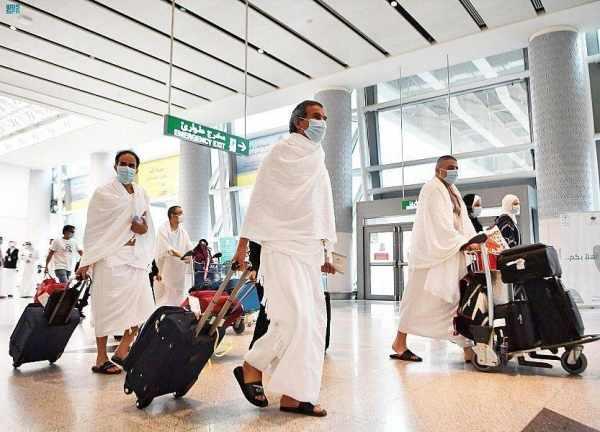 riyadh jeddah pilgrims flight airport