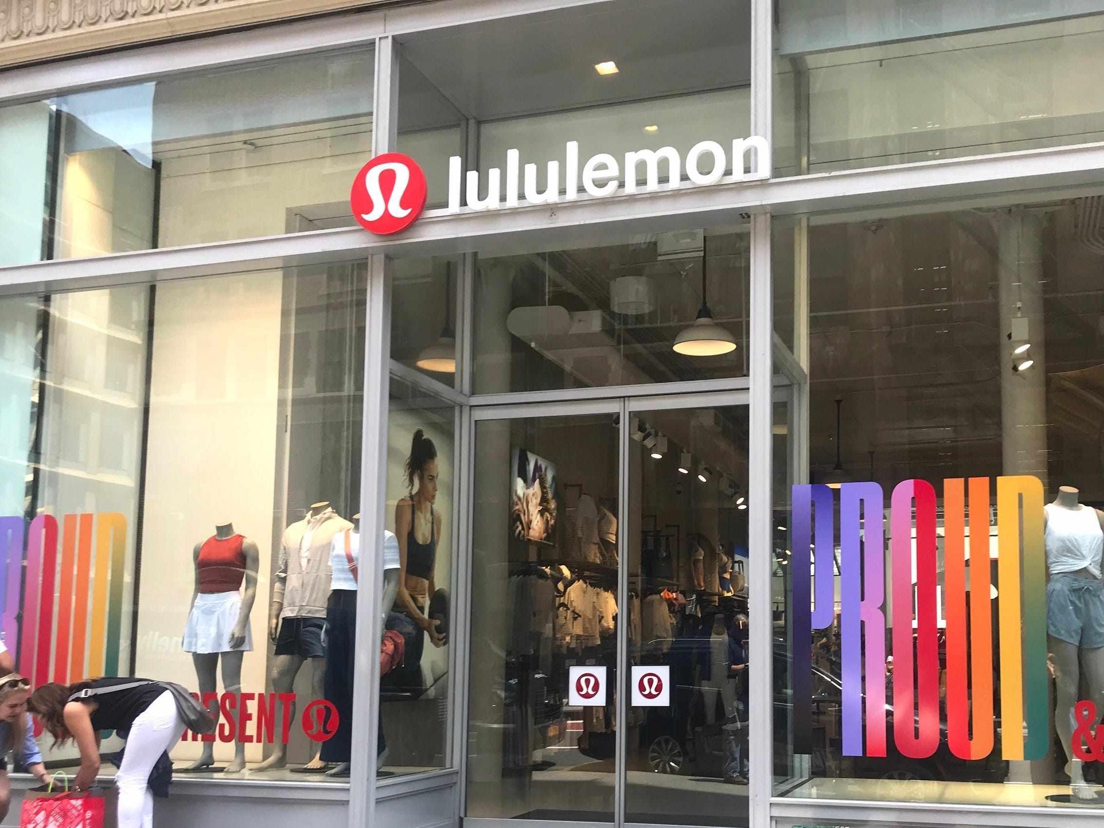 sales lululemon home