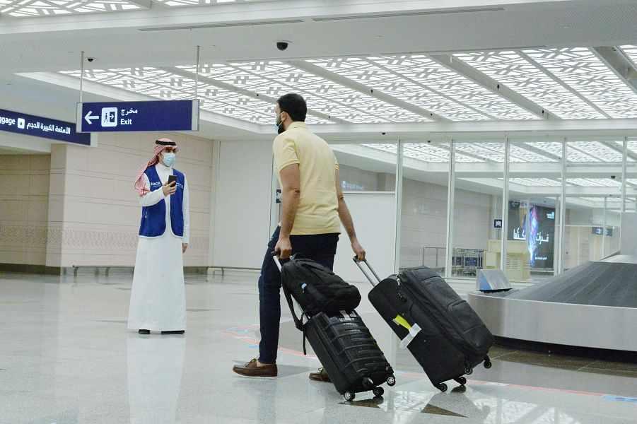 saudi airports vaccinated passengers citizens
