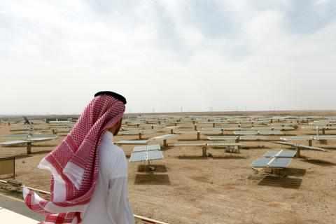 saudi arabia, carbon, trading, global, leader,