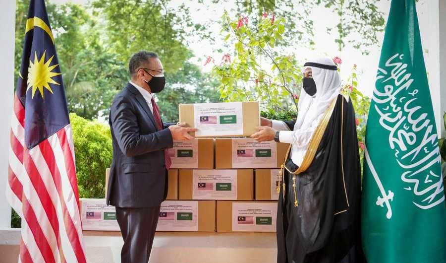 saudi arabia, malaysia, generous, aid, fight,